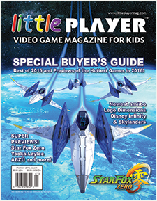 Little Player - Video Game Magazine for Kids Issue 1