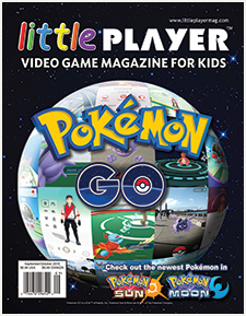 Little Player - Video Game Magazine for Kids Issue 3